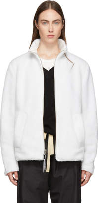Stutterheim Reversible White Varby Zip Jacket