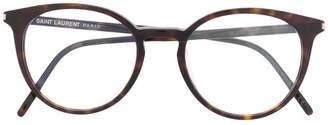 Saint Laurent (サン ローラン) - Saint Laurent Eyewear ラウンド 眼鏡フレーム