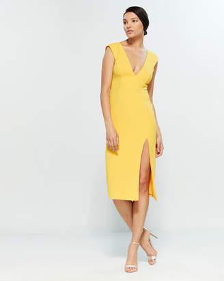 Jay Godfrey Lloyd V-Neck Sheath Dress