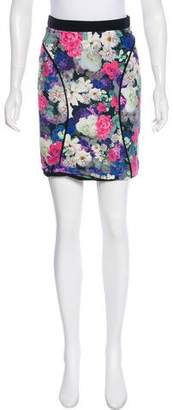 Rebecca Minkoff Floral Print Pencil Skirt