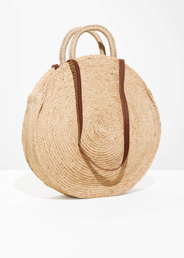 And other stories Straw Circle Bag