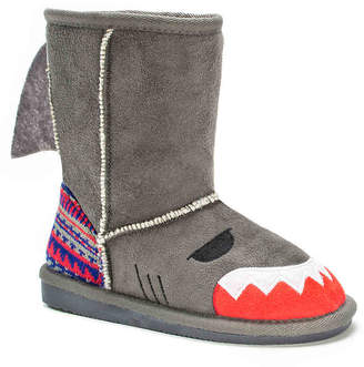 Muk Luks Finn The Shark Toddler Boot - Girl's