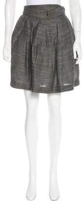 3.1 Phillip Lim Textured Knee-Length Skirt