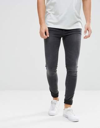 Cheap Monday Him Spray Super Skinny Jeans Crush Gray