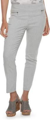 Juniors' Joe B Zipper Pocket Ankle Pants