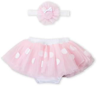 Disney Baby (Infant Girls) Two-Piece Minnie Mouse Tutu & Headwrap Set