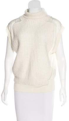 Alexander Wang Sleeveless Turtleneck Top