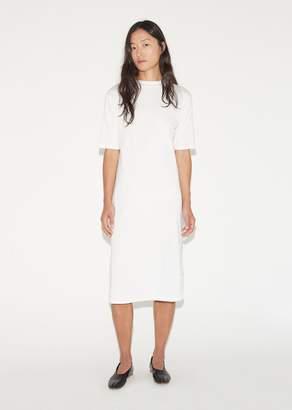 La Garçonne Moderne Jean Mockneck Dress White