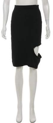 Opening Ceremony Knit Knee-Length Skirt