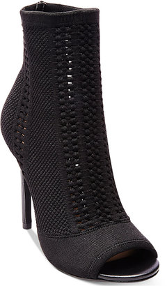 Steve Madden Women's Candid Peep-Toe Booties $129 thestylecure.com