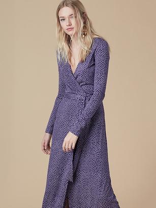 New Julian Long Wrap Dress $648 thestylecure.com