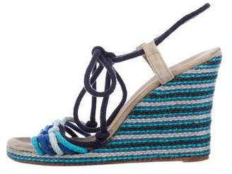 Marc Jacobs Colorblock Wedge Sandals