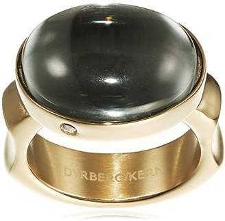 Dyrberg/Kern Women'S-Funny Clown Ring Stacker 15/02 Nella Iii Sg Grey Partially Gold-Plated - 337793 grey