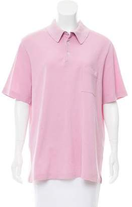 Hermes Short Sleeve Polo Top