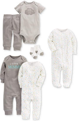 Carter's 9-Pc. Cotton Clothing & Accessories Set, Baby Boys & Baby Girls