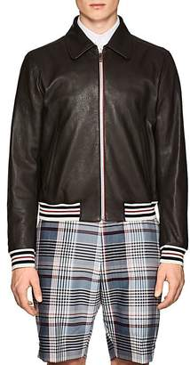 Thom Browne Men's Buffalo Leather Jacket