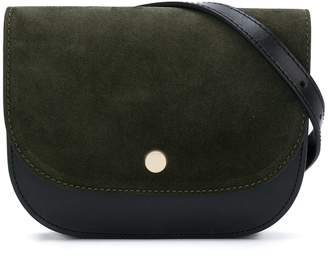 Closed snap-fastened belt bag