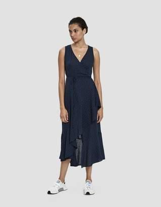Stelen Robbie Gingham Wrap Dress
