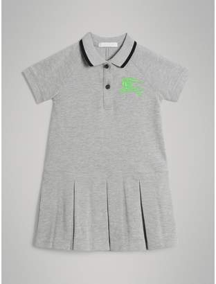 Burberry Tape Detail Polo Dress , Size: 12Y