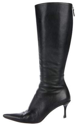 70a6a7a7a Knee High Pointed Toe Boots - ShopStyle
