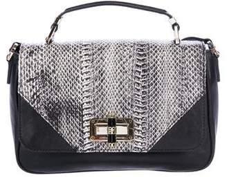 Diane von Furstenberg Snakeskin 440 Gallery Transit Mini satchel