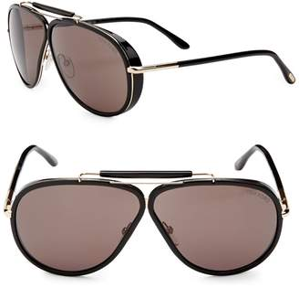 Tom Ford 65MM Aviator Sunglasses