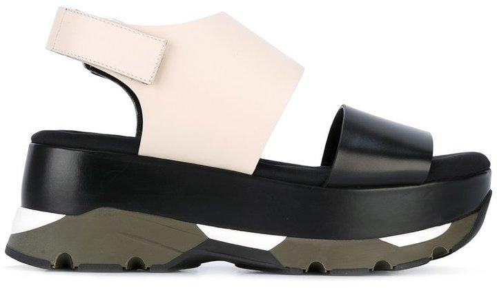 MarniMarni platform slingback sandals
