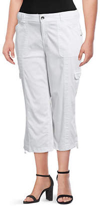 Style&Co. STYLE & CO. Plus Bungee Capri Pants