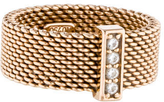 Tiffany & Co. 18K Diamond Somerset Ring $1,095 thestylecure.com