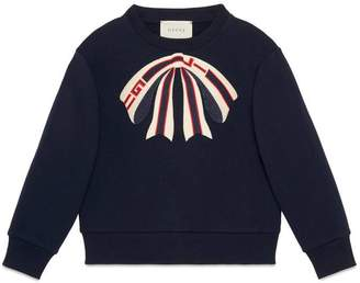 Gucci Children's sweatshirt with bow