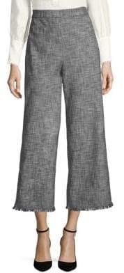 Rebecca Taylor Slub Suiting Pants