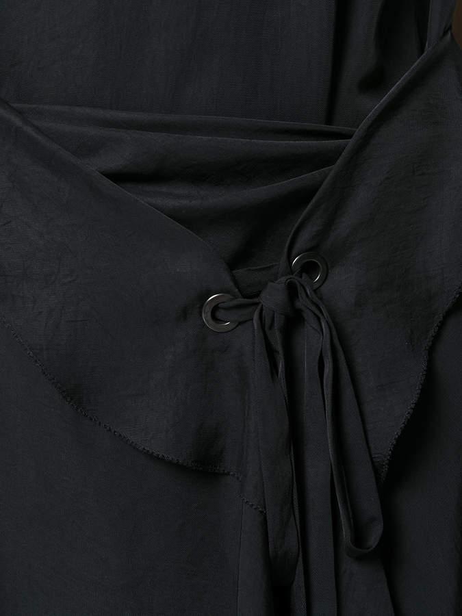 Rag & Bone asymmetric draped tank dress