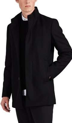 Theory Men's Christopher Wool-Blend Melton Coat