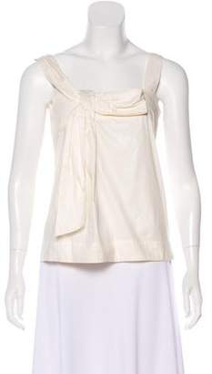 See by Chloe Bow-Accented Sleeveless Top
