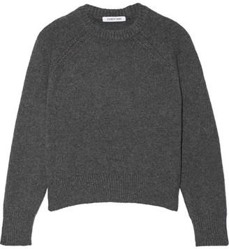 Elizabeth and James - Rhett Wool-blend Sweater - Anthracite $325 thestylecure.com