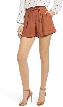 June & Hudson Pleated Shorts