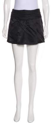 Jenni Kayne Satin Pleated Mini Skirt