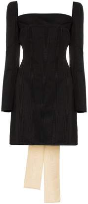 Ellery Paalen silk mini dress