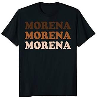 Morena Wedding Party Fun Latina Spanish Mexican T-Shirt