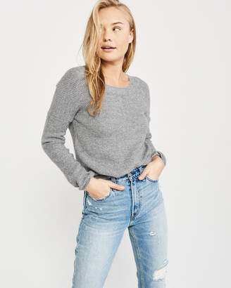 Abercrombie & Fitch Bow Back Crewneck Sweater