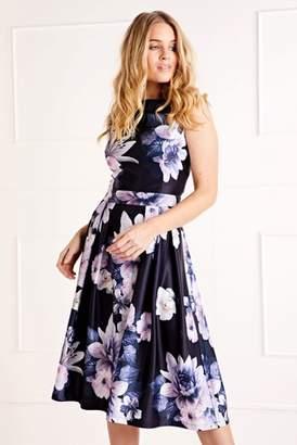 Next Womens Mela London Floral Prom Dress