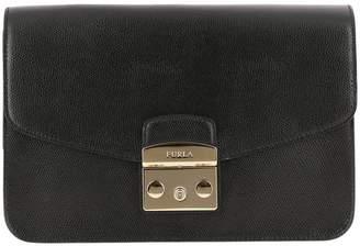 Furla Crossbody Bags Metropolis S Shoulder Bag In Textured Leather With Removable Shoulder Strap