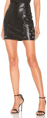 by the way. Nikki Faux Leather Skirt