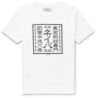 Neighborhood Printed Cotton-Jersey T-Shirt