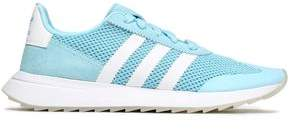 adidas Faux Suede-trimmed Mesh Sneakers