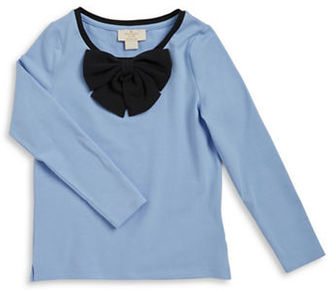Kate Spade New York Girls 7-16 Bow-Accented Shirt $48 thestylecure.com