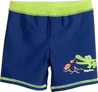 Playshoes Boy's UV Sun PRedection Crocodile Swim Shorts,(Manufacturer Size: 74/80)
