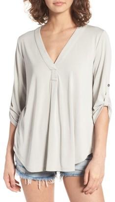 Women's Lush Henley $39 thestylecure.com