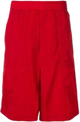 Ami Paris drop-crotch shorts