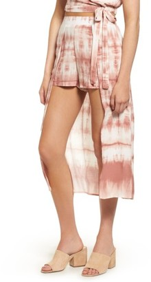 Women's Mimi Chica Walk Through Midi Skirt $39 thestylecure.com
